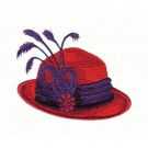 Ravishing Red Hats I Collection