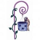 House Sparrow And Feeder