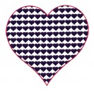 4 Inch Heart Fill Stitch
