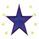 3 Inch Sprinkle Filled Stars