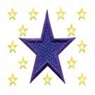 2 Inch Sprinkle Outline Stars2