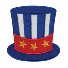 Patriotic Top Hat Pocket