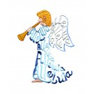 Alleluia Angel Embroidery Design