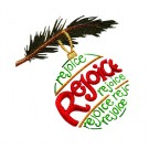Rejoice Ornament Free Embroidery Design.