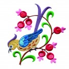 A Birds Paradise Jf308 Embroidery Design