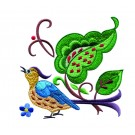 A Birds Paradise Jf311 Embroidery Design