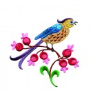 A Birds Paradise Jf314 Embroidery Design