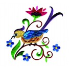 A Birds Paradise Jf317 Embroidery Design