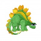 Adorable Stegosaurus Embroidery Design