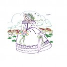Stroll in The Garden Embroidery Design Collection