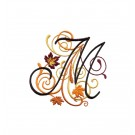 Abc213 Letter M Embroidery Design
