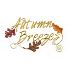Autumn Breezes Embroidery Design