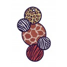 Animal Skin Ith Novelty Bookmark Embroidery Design