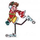Boy Ice Skater