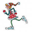 Girl Ice Skater