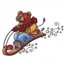 Sledding Bear