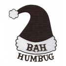Bah Humbug Christmas Embroidery Design