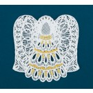 Freestanding Lace Angel 3 Embroidery Design