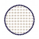 Flowering Eyelet Circle 2 Embroidery Design