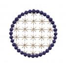Flowering Eyelet Circle 5 Embroidery Design