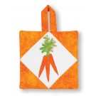 Carrots Pot Holder Embroidery Design