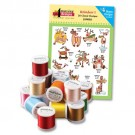 Reindeer I with Madeira 18-Spool Thread Kit