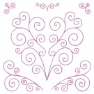 Heart Design 2 Simply Hearts Quilting Designs