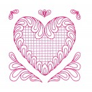 Heart 4 Simply Hearts Quilting Design