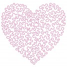 Heart 8 Simply Hearts Quilting Design