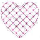 Heart 11 Simply Hearts Quilting Design
