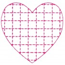 Heart 12 Simply Hearts Quilting Design