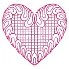 Heart 20 Simply Hearts Quilting Design