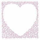 Heart 22 Simply Hearts Quilting Design