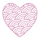 Heart 32 Simply Hearts Quilting Design