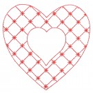 Heart 34 Simply Hearts Quilting Design