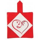 Heart Pot Holder Embroidery Design