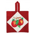 Apples Pot Holder Embroidery Design