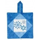 Snowflakes Pot Holder Embroidery Design