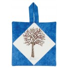 Winter Tree Pot Holder Embroidery Design