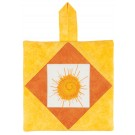 Summer Sun Pot Holder Embroidery Design