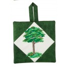 Summer Tree Pot Holder Embroidery Design