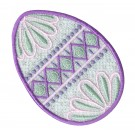 Freestanding Lace Egg Embroidery Design 5
