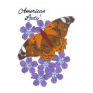 American Lady Butterfly Scrapbook Embroidery Design