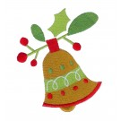 Christmas Bell Merry Little Christmas Embroidery Design