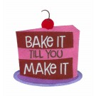 Bake it Make it Kitchen Quips Embroidery Design