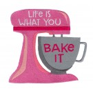 Bake It Kitchen Quips Embroidery Design