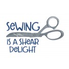 Shear Delight In Stitches Embroidery Design