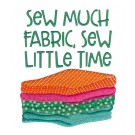 Sew Much Fabric In Stitches Embroidery Design