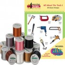 All about The Tools with Madeira 18 Spools Thread Kit