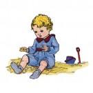Boy in Sand